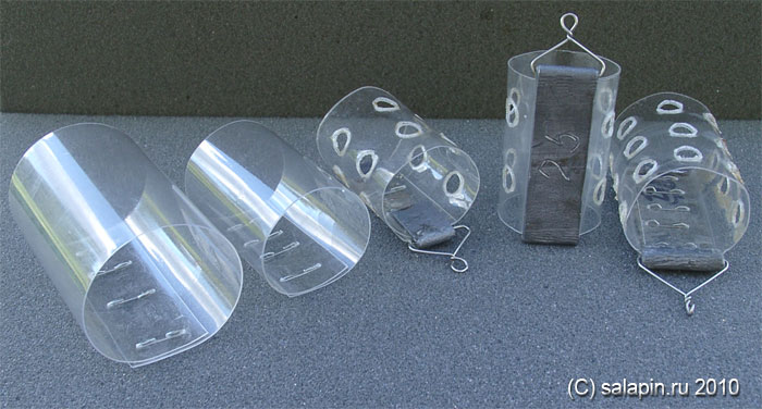 Кормушки для рыбалки из пластиковых бутылок своими руками
